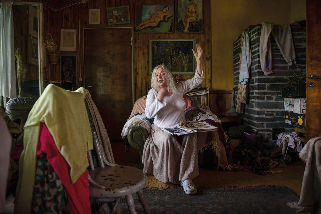 Vesa Ranta: Anita tanssii, kuva Reunalla-sarjasta.