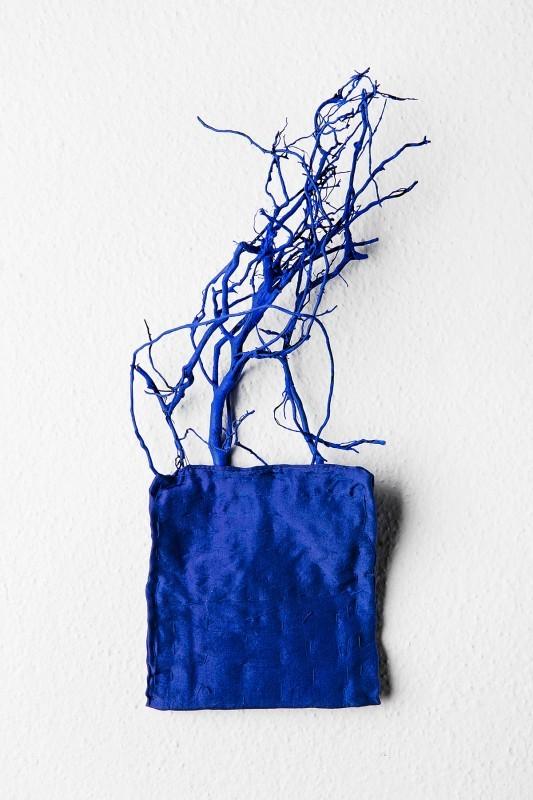 Helena Kaikkonen: Landscape in blue, 2015.