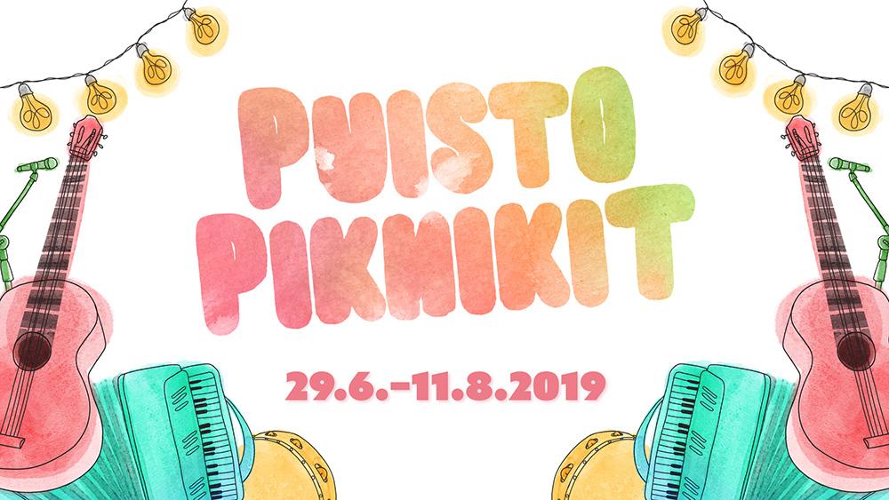 Puisto Piknikit Pikisaaressa kesällä 2019