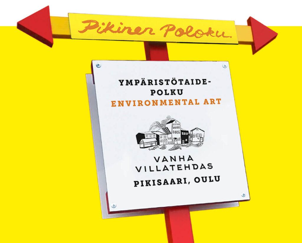 Pikinen Poloku – ympäristötaidetta / environmental art in Pikisaari, Oulu