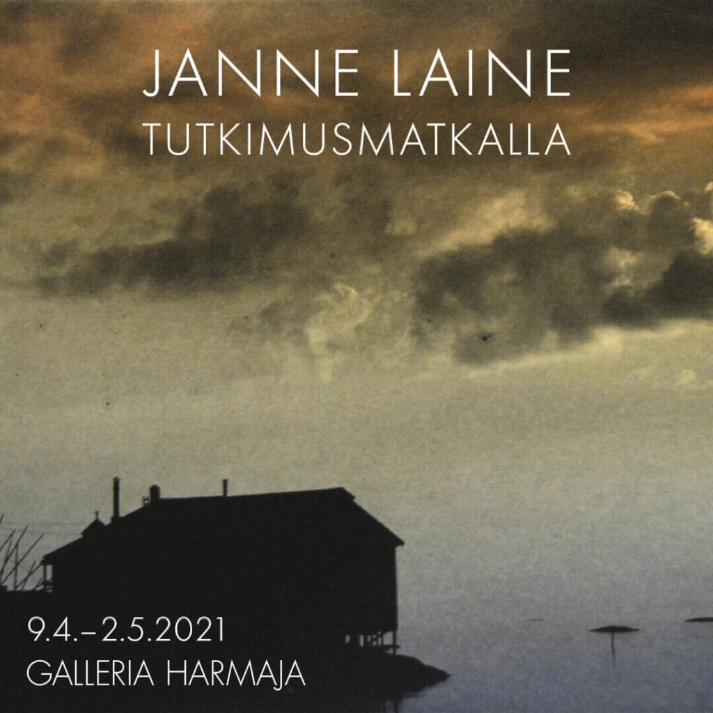 Janne Laine: Ilta, 2020, polymeerigravyyri, akvatinta, 15 x 22,5 cm.
